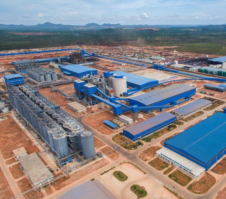 PT. Well Harvest Winning (WHW) Alumina Refinery . Dok