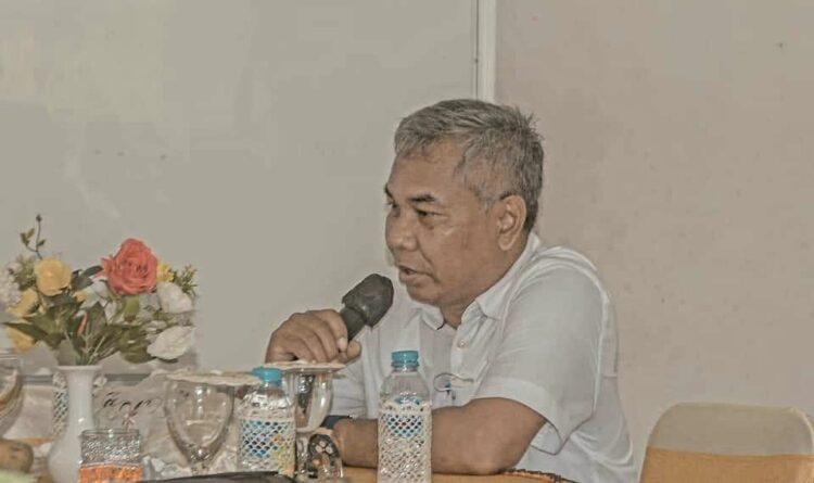 Bupati Ketapang Martin Rantan, SH.,M.Sos membuka Kegiatan Coffee Morning .