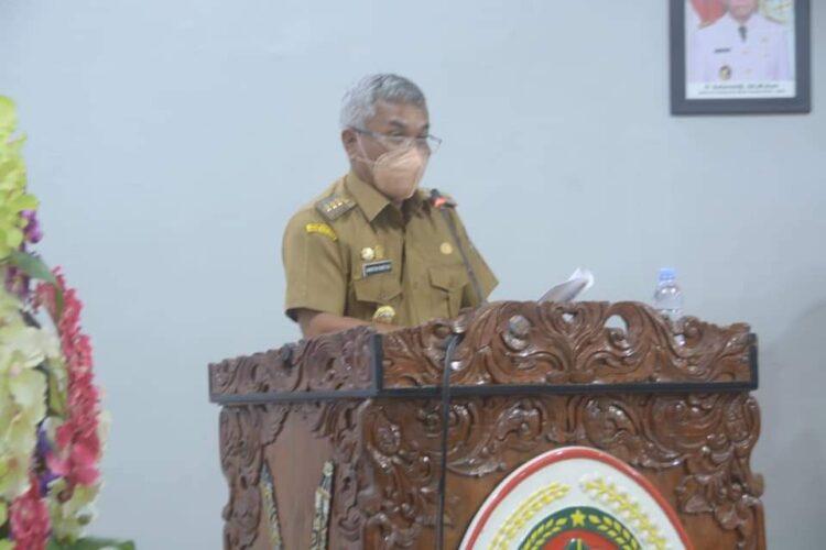 Bupati Ketapang Sampaikan Pidato Pengantar Nota Keuangan Dan Raperda Tentang Perubahan APBD 2021.