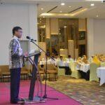 Wakil Bupati Ketapang H. Farhan, SE.,M.Si saat membuka kegiatan Seminar Kemahasiswaan Pergerakan Mahasiswa Islam Indonesia (PMII) Komisariat Politeknik Negeri Ketapang,